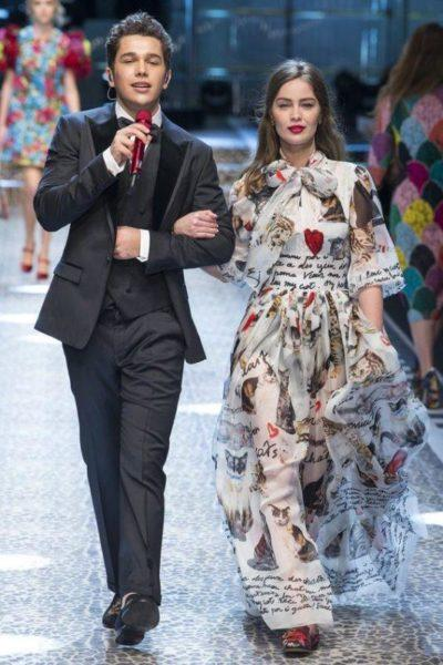 Domenico Dolce and Stefano Gabbana  2018